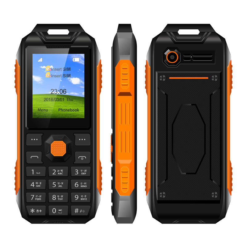 Cheap Mobile Phone KINGKONG G06 <span class=keywords><strong>Quad</strong></span> Band 1.8 zoll Rugged Phone