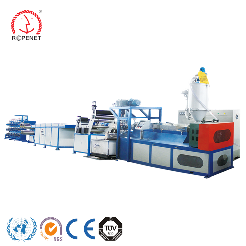 Tearing Film pp fiber production line for pp split film raffia tape yarn extruding making machine