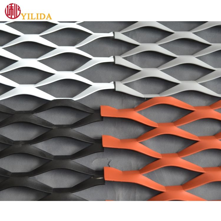 RAL color coating diamond mesh expanded metal supplier