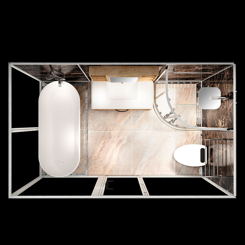 Prefab bathroom pod All In One Bathroom Unit