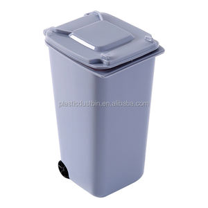 Factory Supplier Plastic Pen Holder Garbage Bin