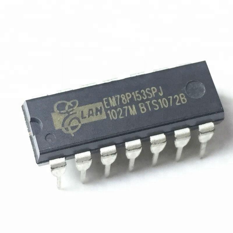 10 x EM78P153SPJ DIP14 8-BIT MICRO-CONTROLLER