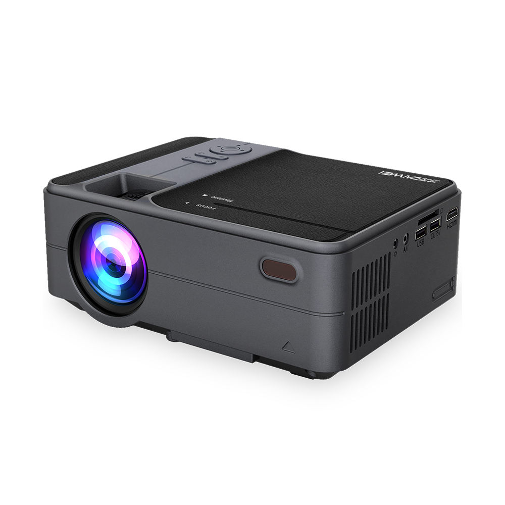 Mini WIFI LED projector 3500Lumens สนับสนุน 720P 1080P 4K