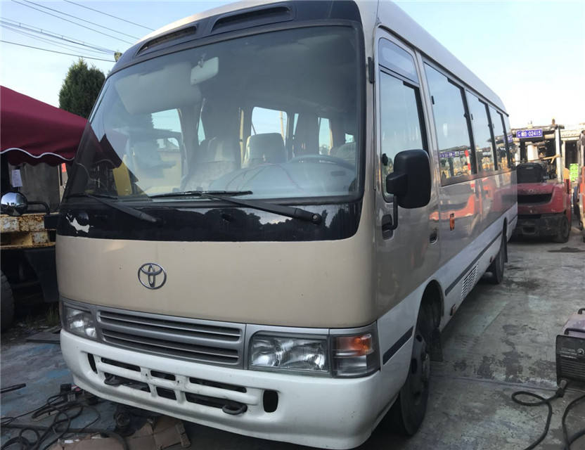 Used Toyota COASTER 30 SEATS STANDARD NEW MODEL /Japan Medium Sized 27 seats Used Toyota Coaster Bus 2013