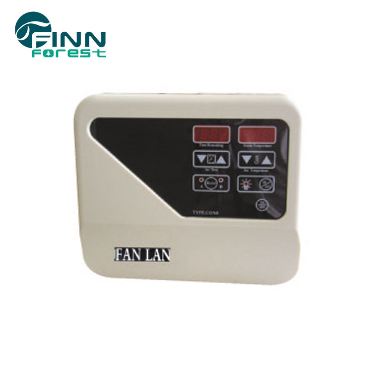 Electric steam sauna heating remote control thermostat