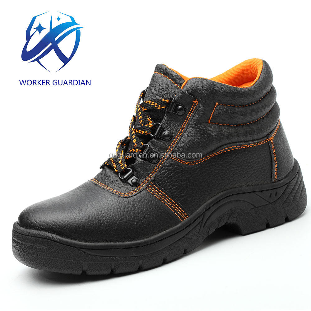 China Factory Cheap Price Wholesale Iron Steel Toe Cap Safety Shoes Industrial Work Shoes For dubai