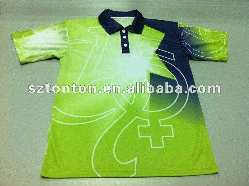 <span class=keywords><strong>2012</strong></span> personalizado sublimada camisa pólo