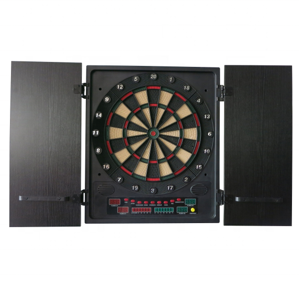 High quality LED electronic cabinet dartboard dart cabinet