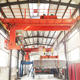 portable mini kone bridge crane 15 meters 20 ton