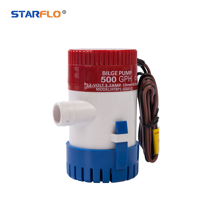 STARFLO 1100GPH 12V DC 29MM outlet small dc water 1100gph marine bilge pump boat for sale