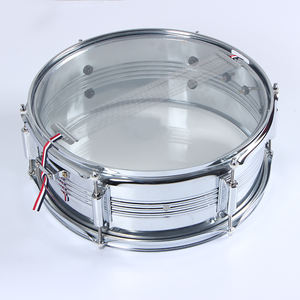 GE120 พื้นผิวชุบ Chrome china sliver snare กลอง