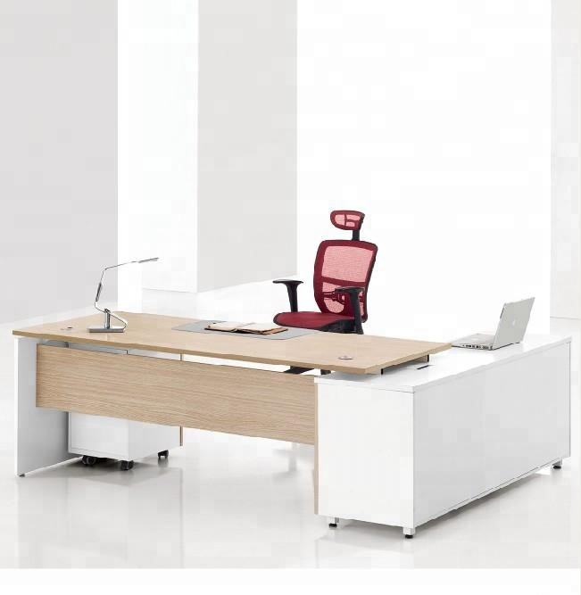 Top Quality Office Furniture Desk Wooden Furniture CEO Manager Table Design Modern Executive Desk