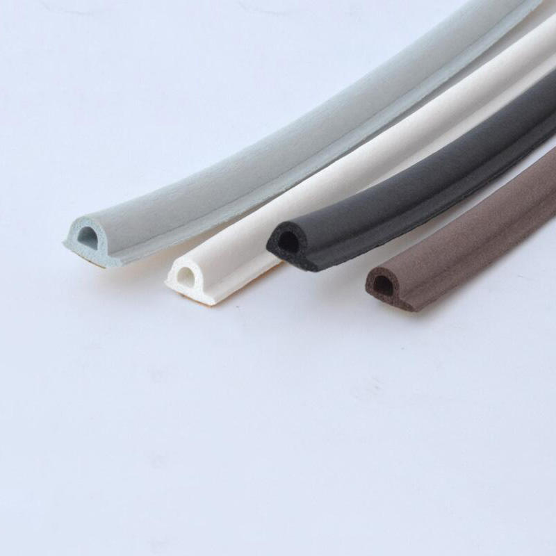 Best quality rubber tape self adhesive rubber beading for glass door