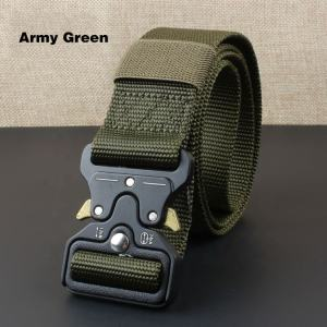 High Quality Custom Solid Color Polyester Jacquard Fabric Belt Woven Canvas Belt For Men