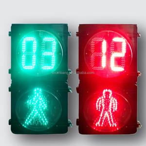 300mm spark dynamic pedestrian led traffic light  pixel look traffic signs