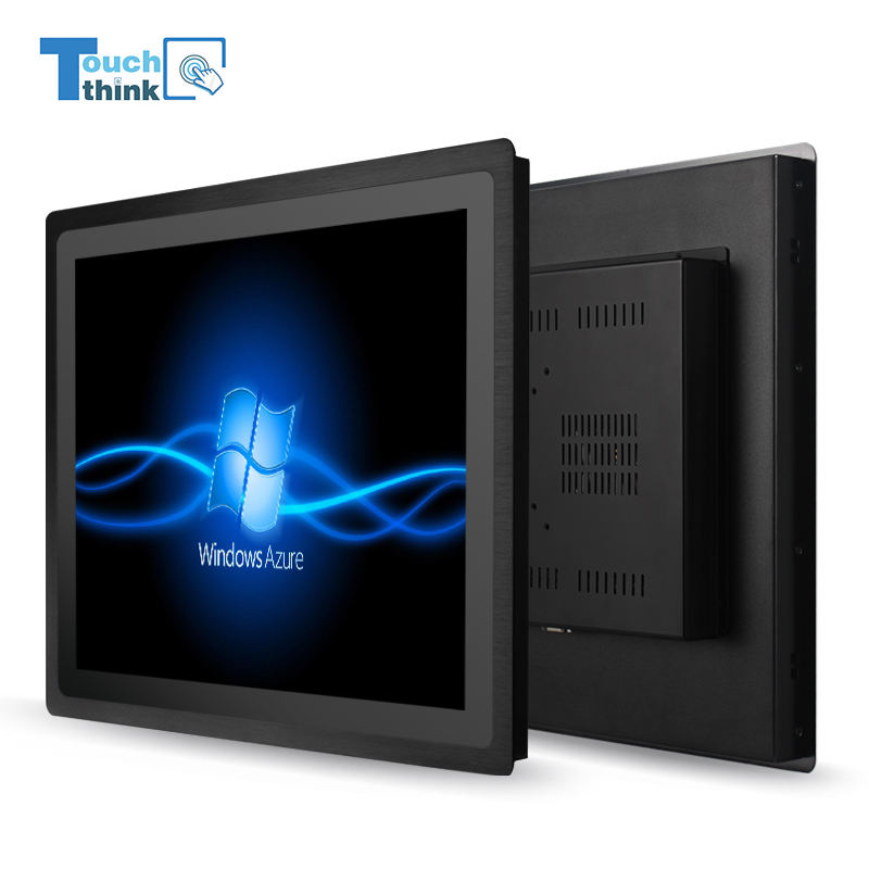 21.5 Inch Capacitive Touch Screen Panel IP 65 Advertising LCD Display Win7/10 OS All-In-One PC