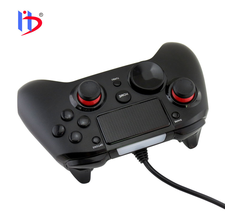 Gamepad controlador con cable USB para PS4 y PC
