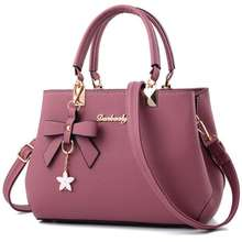 cz1020a New wholesale luxury women bags leather brand 2017 pu zipper bow handbags for women