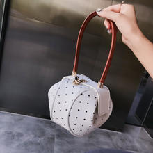 Hot Selling High Quality New Mini Wave Dumpling PU Leather Girl Shoulder Bag