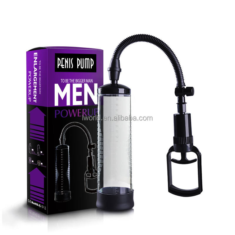 Training Large penis toys power pump sex dildo for the real men