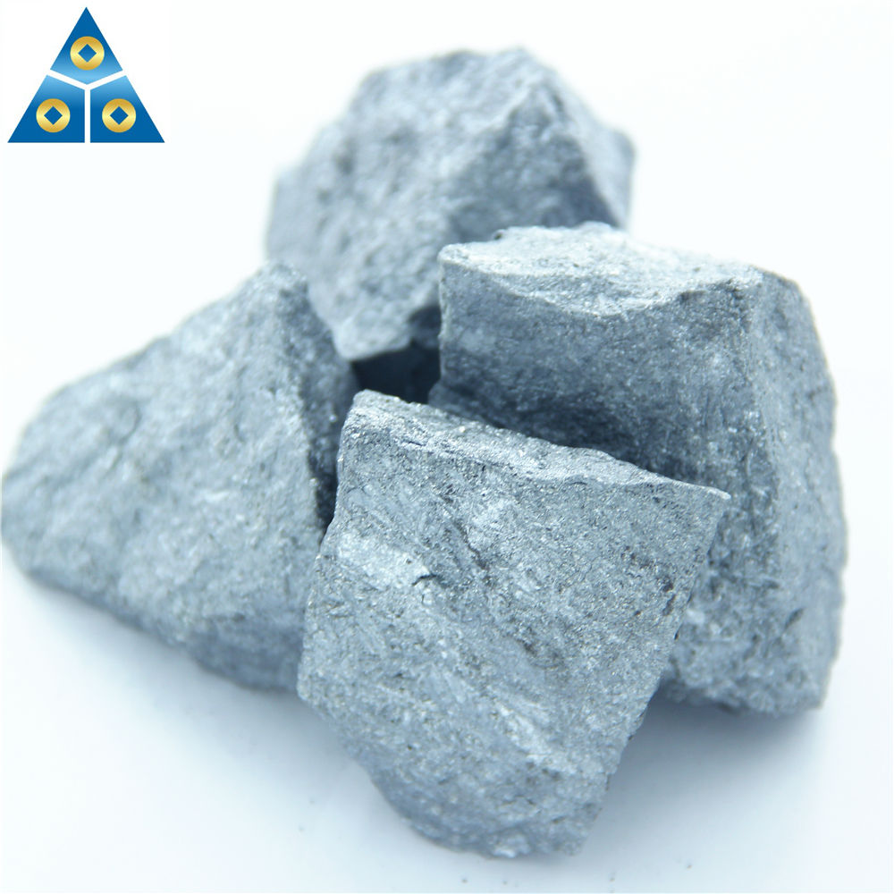 Low carbon raw material lump of ferro silicon 75 for steel making