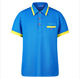Outdoor golf anti-UV blank with one pocket polo t shirts for printing