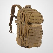 Backpack military designed for an outdoor adventure or a tactical mission