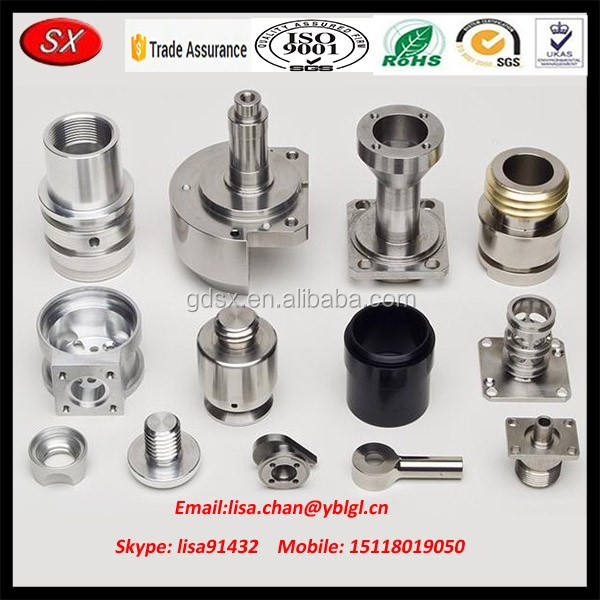 Guangdong factory cnc machinery turning parts auto/moto spare parts
