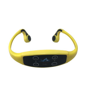 H-907 Bone Conduction Headsets with 120m Range 7 Frequencies Waterproof Magnetic Charging Device Designed for Swimminng Training
