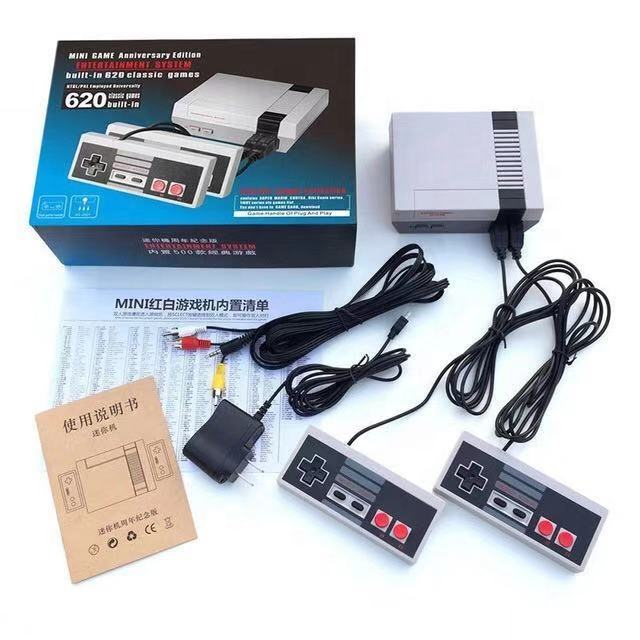 Video Game Console Groothandel Game Consoles Ingebouwde 620 Klassieke Video Tv Games Retro Video Game Console