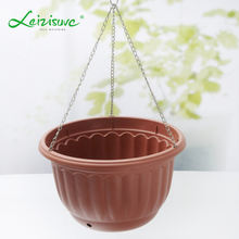 Different size Hanging basket supplier & planter pots & plastic hanging basket pot