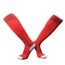 Hot Selling Wholesale Men Long High Knee Adult Soccer Sport Sock