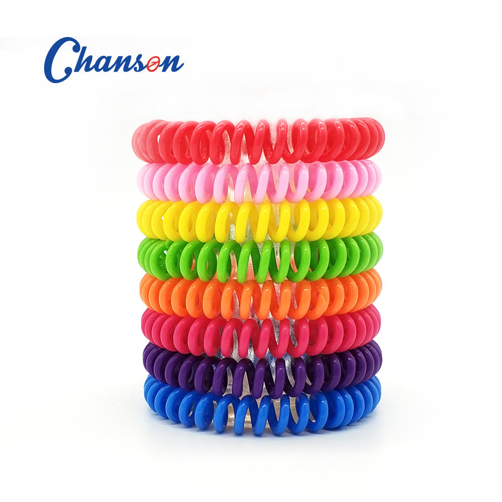 Repellent Bracelet Chanson Factory Natural Citronella Oil EVA Mosquito Repellent Bracelet
