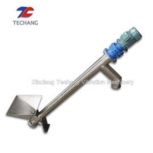 Feeding machine grain small inclined spiral screw conveyor