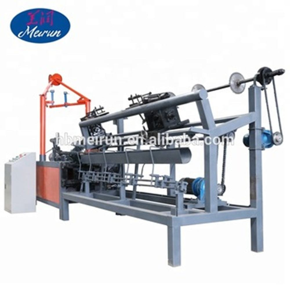 Economical and Practical automatic Diamond wire mesh net making machinery/chain link fenc machine/fenc knitting machine