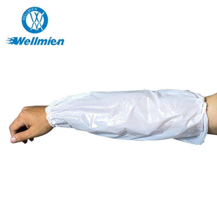 Anti-dirty PE Sleeve Cover Plastic Cover With Elastic