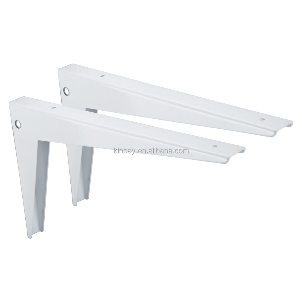 Triangular folding bracket Adjustable Angle Shelf Wall Mounted Metal Table Folding Bracket