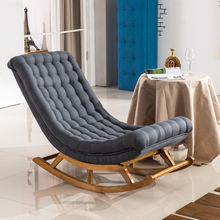 Hot sales European style rocking chairs living room rolling chair designer furniture lazy chair