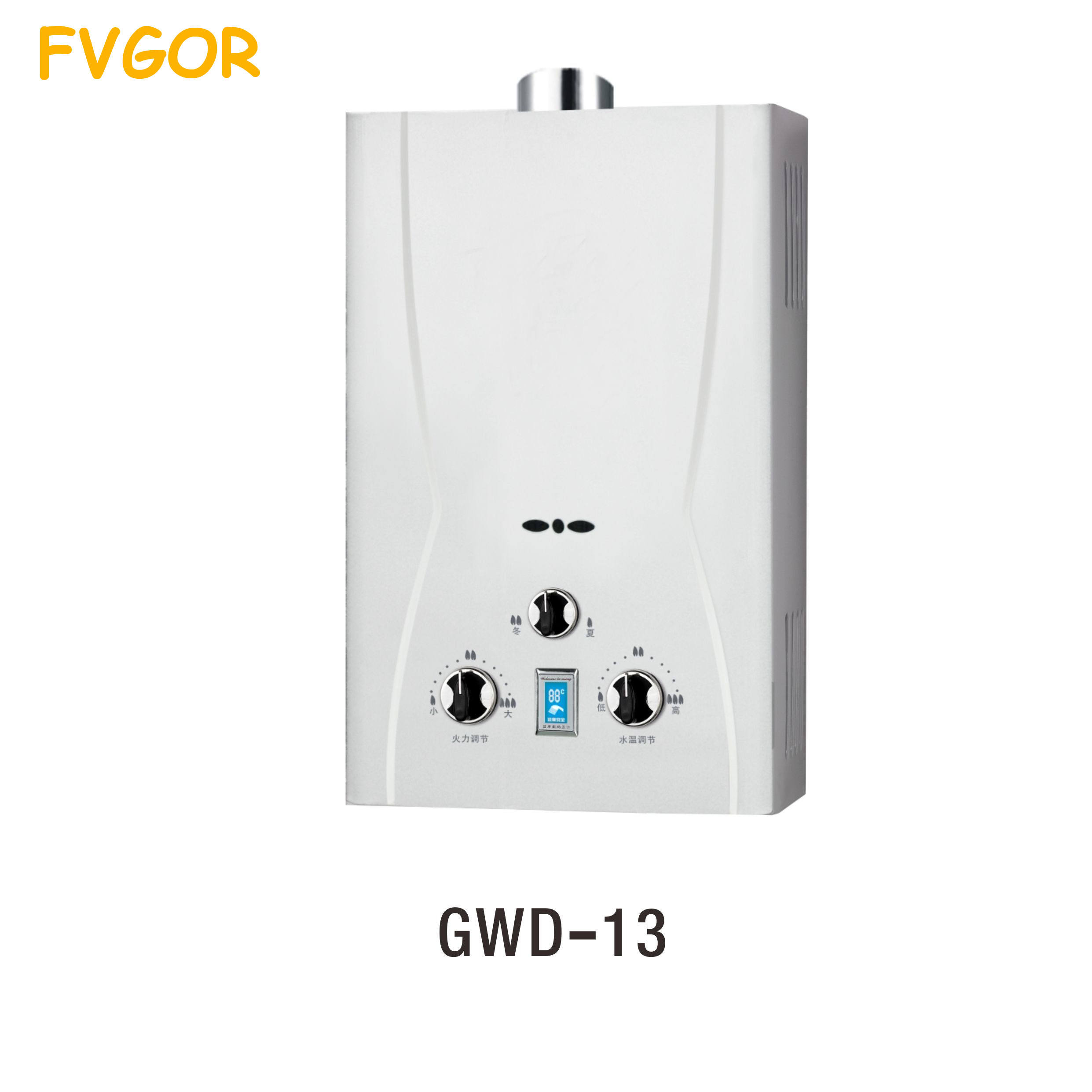 GWD-13 China wholesale India style instant water heater gas geyser