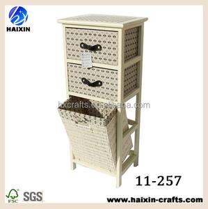 Barato de madera antiguo chino cajones bombay pecho pecho pecho oriental con 3 cestas