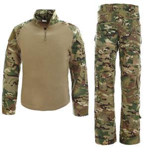 Wholesale Tactical Airsoft Combat Uniform CP Multicam Camo Frog Suit