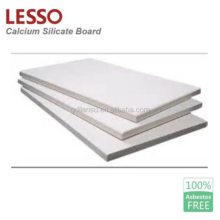 Good moistureproof Calcium silicate better than gypsum board standard size