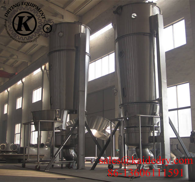 FL Series Fluid bed Granulating Machine Fluidizing Granulator