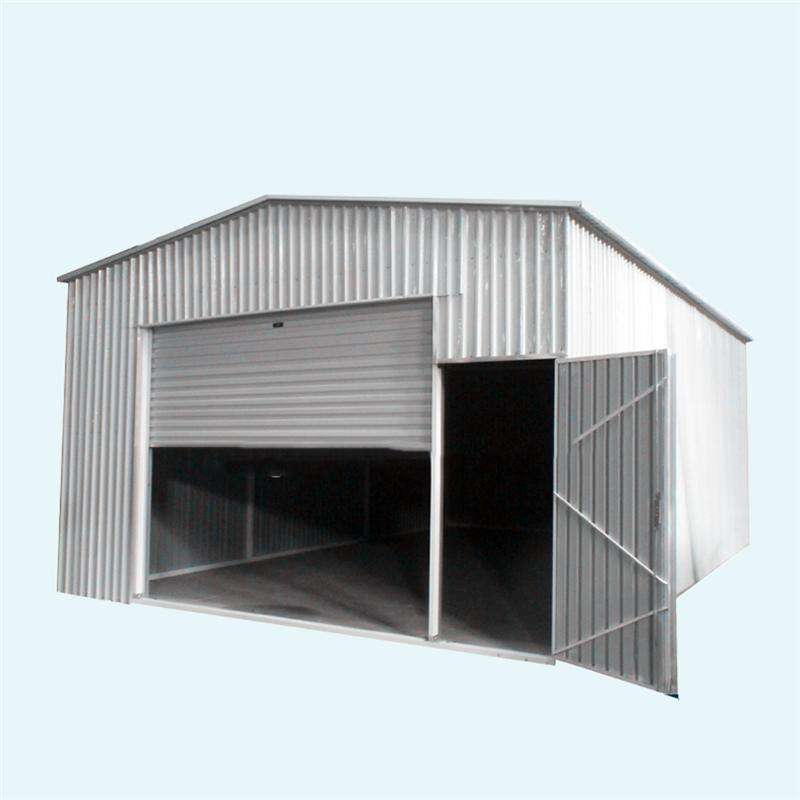 chinese steel building kit 2 car carport garages