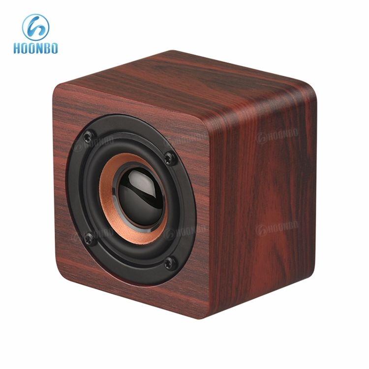 Pemutar Media Portabel, Speaker Bluetooth Ponsel Kayu Portabel