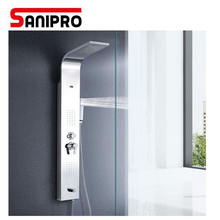 Sanipro Shower Panel 304 Stainless Steel Material 5  Functions shower column