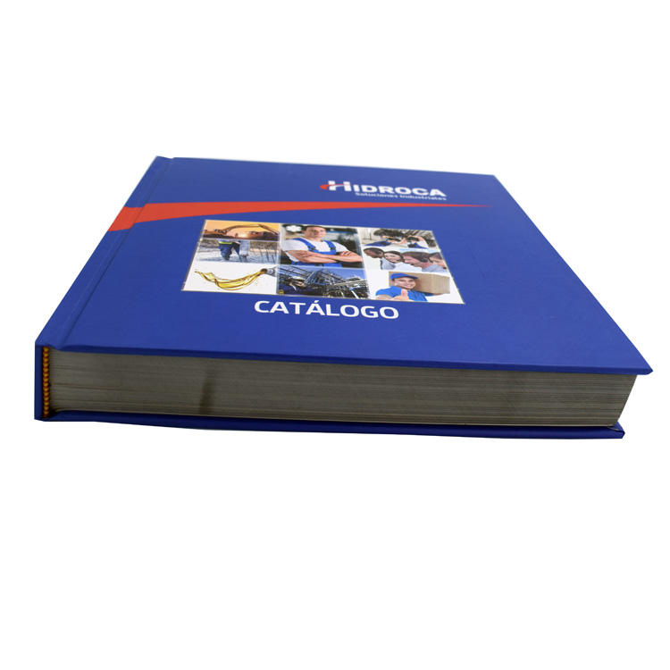 luxury matt lamination hardcover catalog