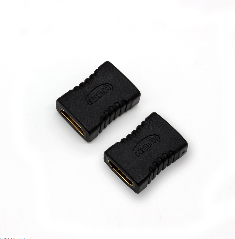 Black color Female to female 1080P 3D adapter HDMI Adaptor Male to HDMI Female Cable Converter Extender hdmi adapter