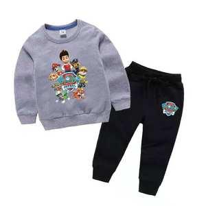 Boys set new kids clothing two-piece sweater Wei pants two-piece sportswear