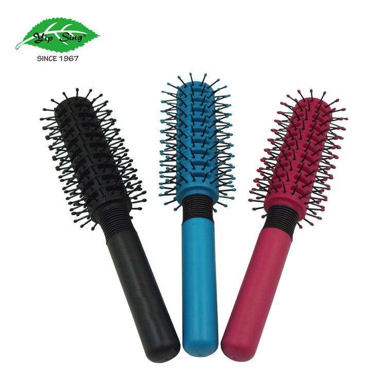 Custom Private Label Anti-statische Tip Bal Massage Hairstyling Vent Ronde Hair Brush